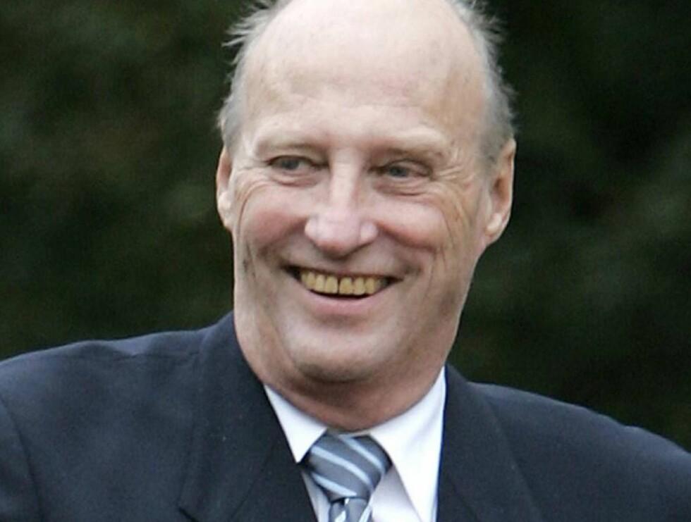 FYLLER 70: Den 21. februar fyller kong Harald 70 år... Foto: SCANPIX