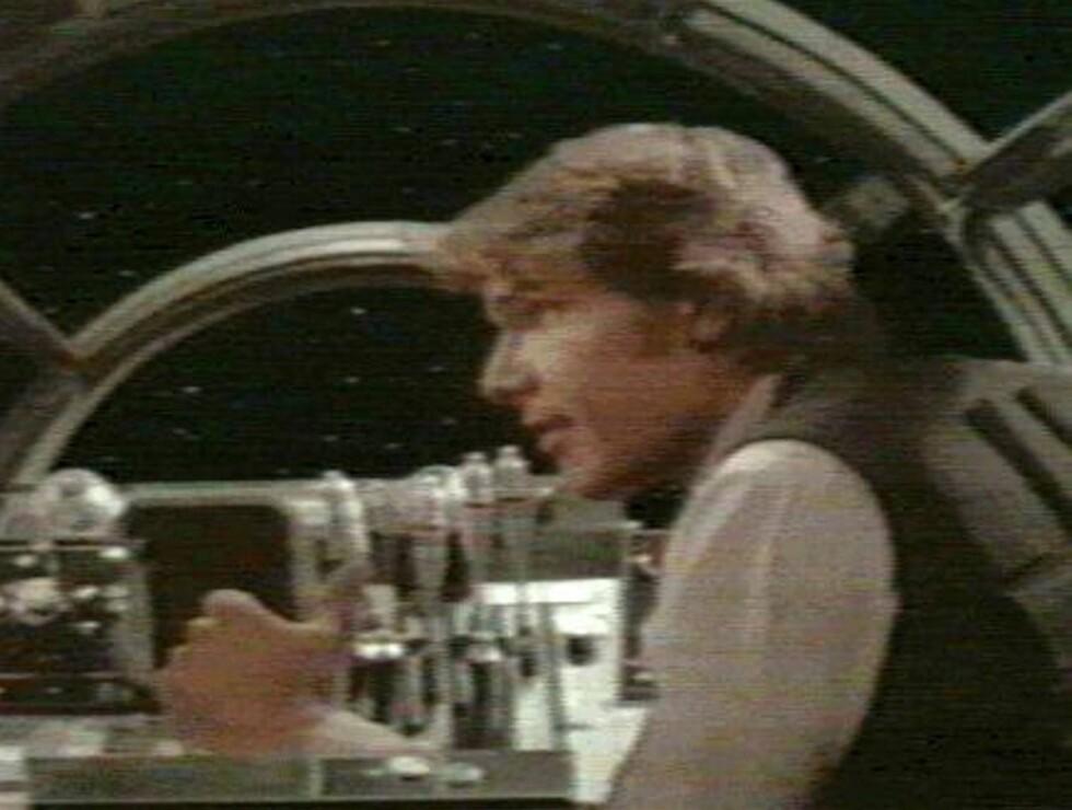 """MILLENNIUM FALCON: I """"Star Wars"""" filmen slo Harrison Ford gjennom som romskip-piloten Han Solo. Foto: All Over Press"""