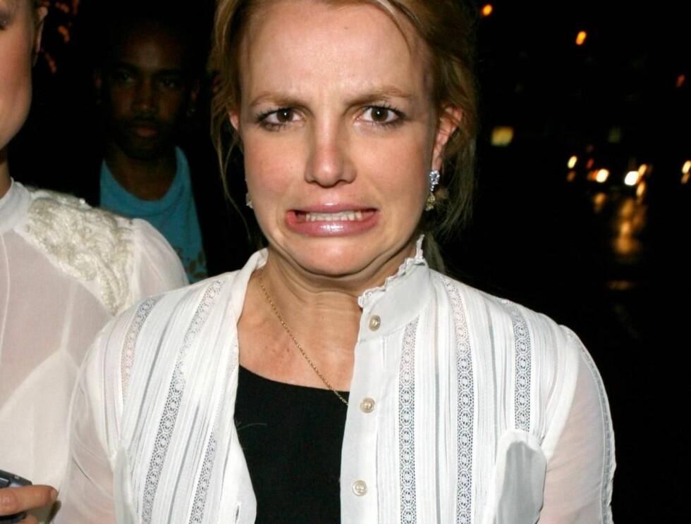 KYSK? Britney vil ikke ha sex før i juli... Foto: All Over Press