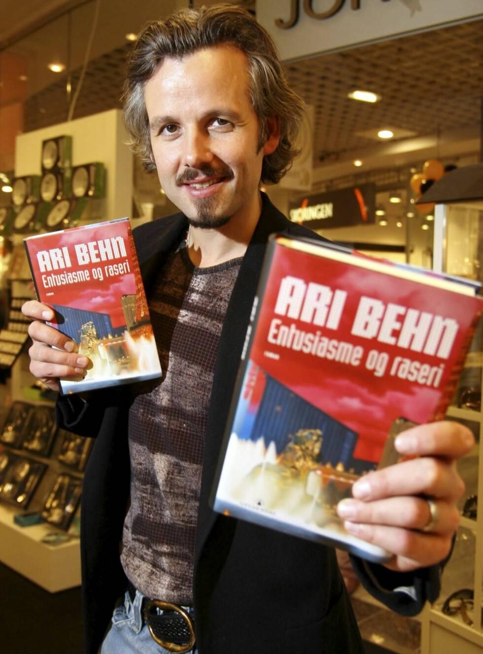 BOKSUKSESS: Ari Behns siste roman har trolig gitt ham millioninntekter. Foto: Morten Krogh, Se og Hør