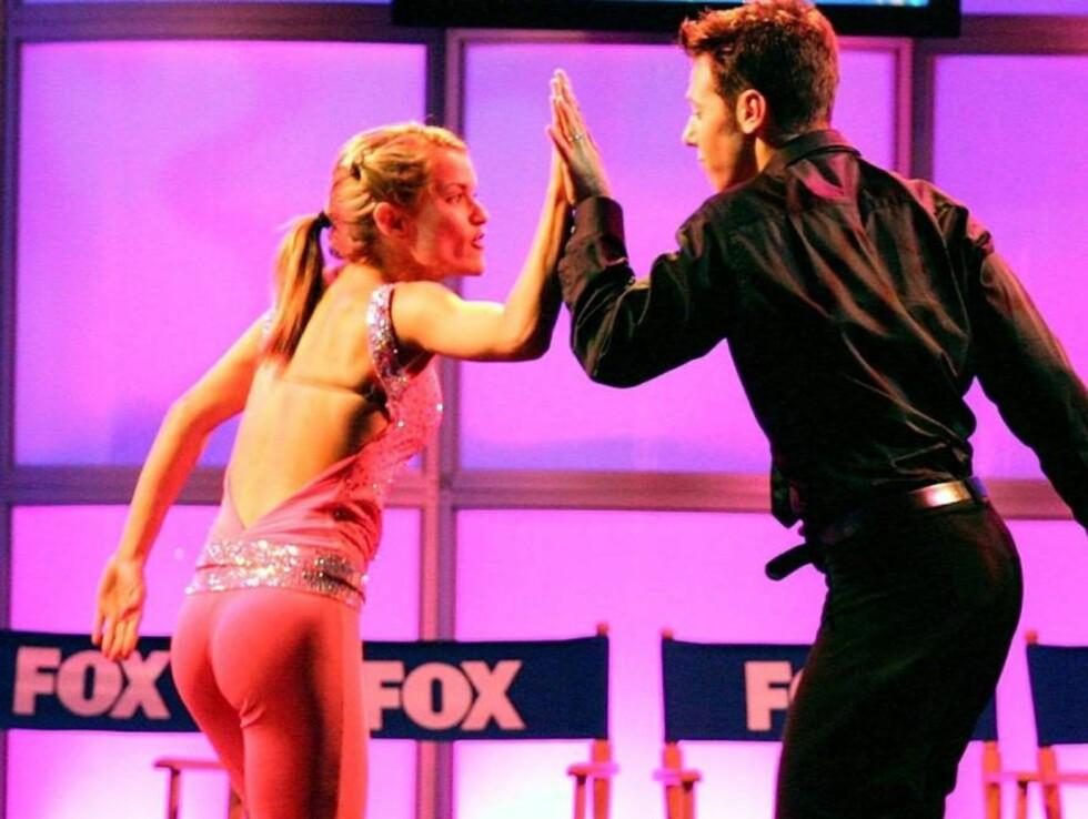 """FLOTT DANS: Benji og hans mangeårige partner var begge i finalen i """"So you think you can dance"""" Foto: All Over Press"""