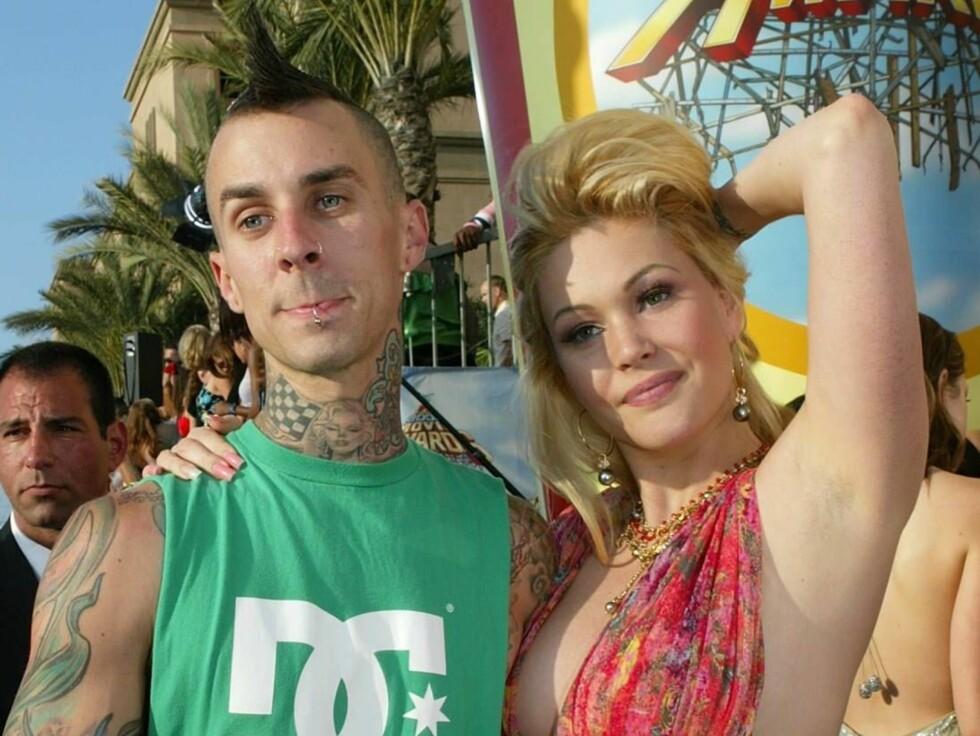 SAMMEN IGJEN: Travis Barker og Shanna Moakler observert sammen ved flere anledninger.. Foto: All Over Press