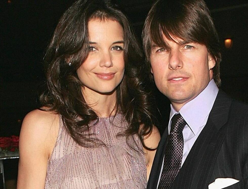 FEIRER EKTESKAPET: Katie Holmes og Tom Cruise inviterer venner til en ny bryllupsfest.. Foto: All Over Press