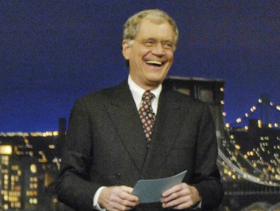 TJENER FETT: David Letterman har 184 millioner grunner til å le. Foto: AP
