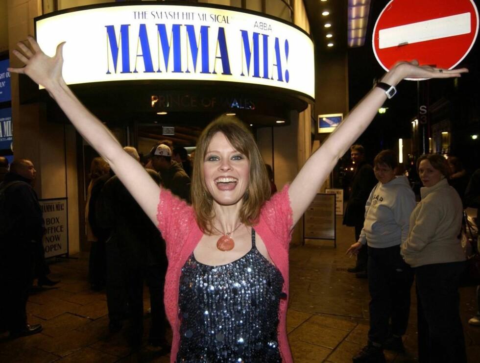 SUKSESS: Lisa slo gjennom i ABBA-musicalen Mamma Mia. Nå har hun fått ny stor rolle! Foto: Se og Hør