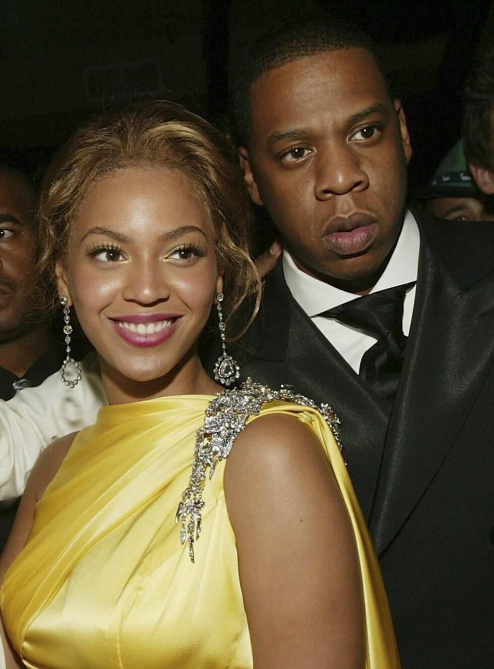 SAMMEN: Knowles og Jay-Z har vært sammen i fire år, noe som vil si en livstid i stjerneverdenen. Foto: All Over Press