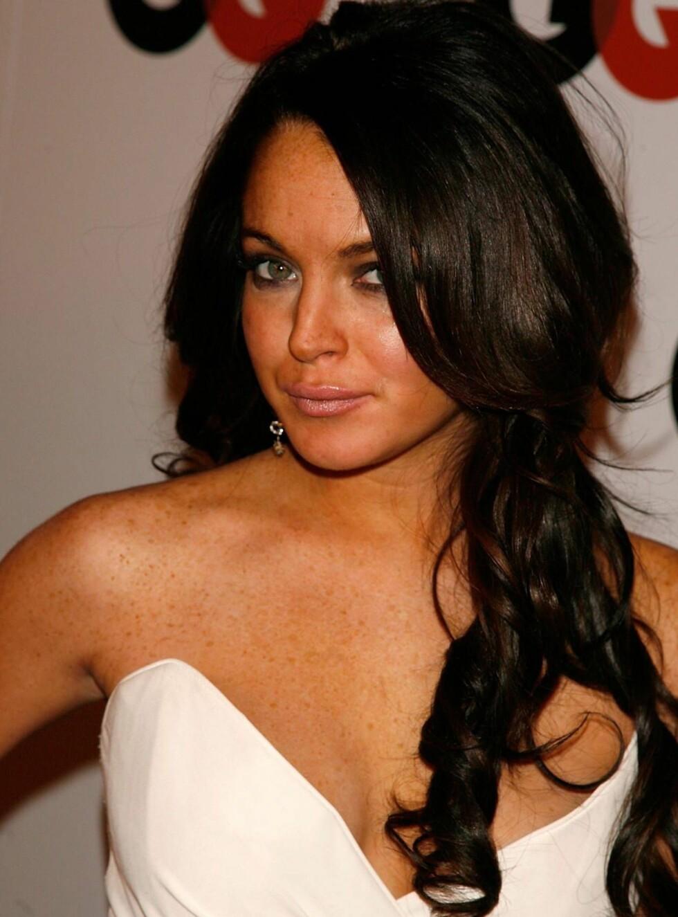 MOTE: Lindsay Lohan er et stort mote-ikon for mange. Nå innrømmer hun å eie hele 10.000 sko! Foto: All Over Press