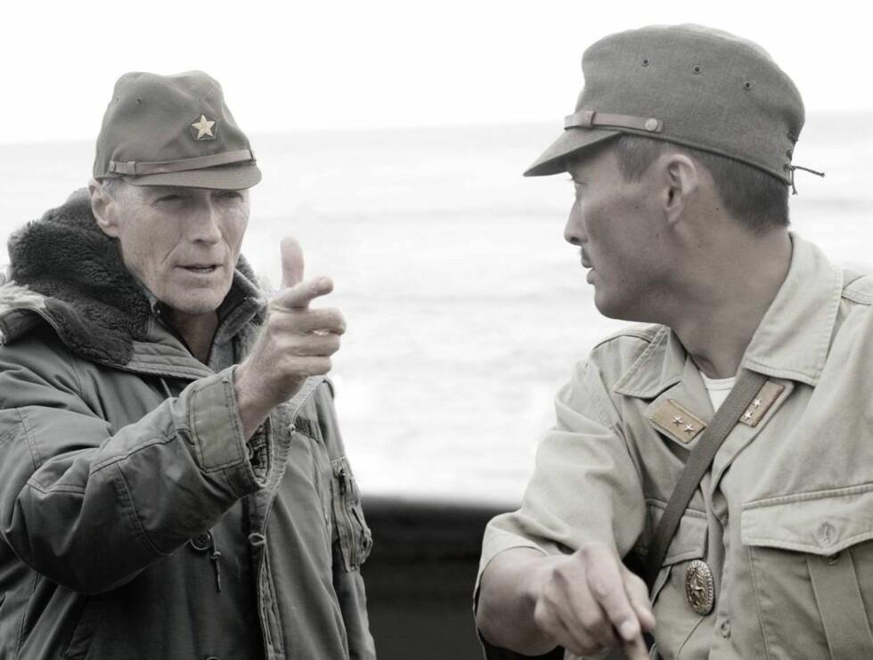 2. VERDENSKRIG: Clint Eastwood tar for seg slaget om Iwo Jima i sin nye film. Foto: Filmweb