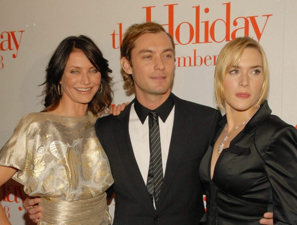 SEXY TROIKA: Cameron Diaz, Jude Law og Kate Winslet. Foto: Stella Pictures