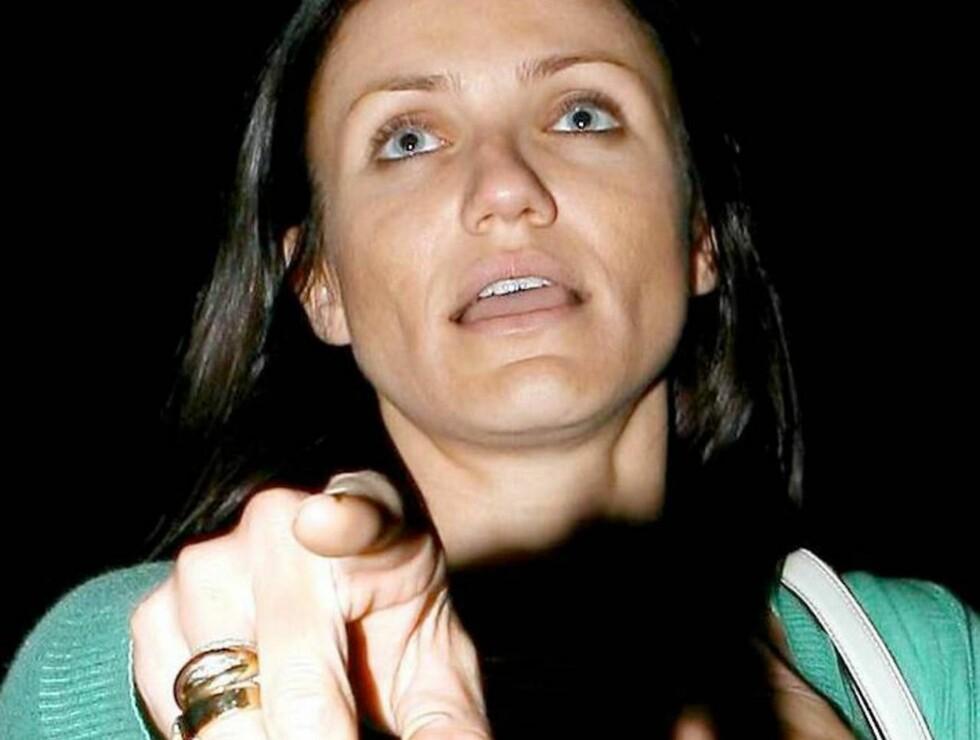 ALDRI BRUD: Cameron vil aldri gifte seg! Hun har fobi mot forpliktelser... Foto: All Over Press