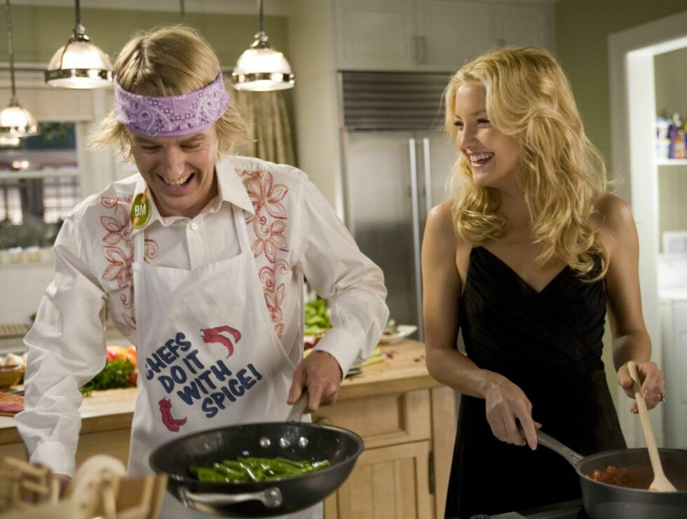 """SAMMEN: Owen og Kate har vært svært gode """"venner"""" siden innspillingen av """"You, Me and Dupree"""". Foto: Filmweb"""