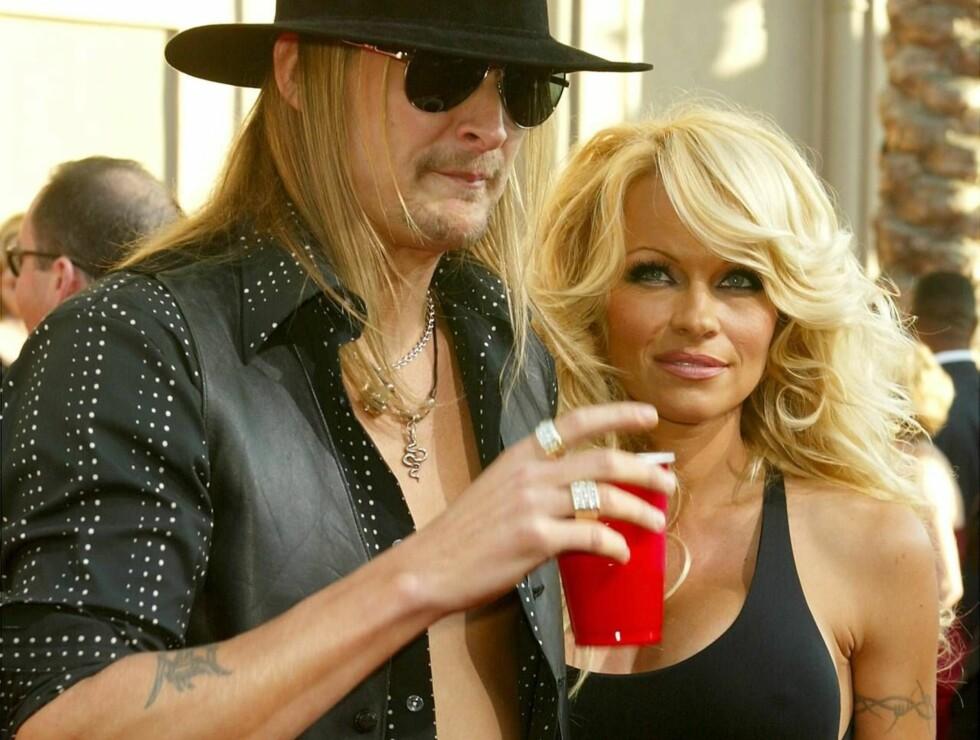 SKILLES: Pamela Anderson og Kid Rock klarer ikke lenger leve sammen. Foto: All Over Press