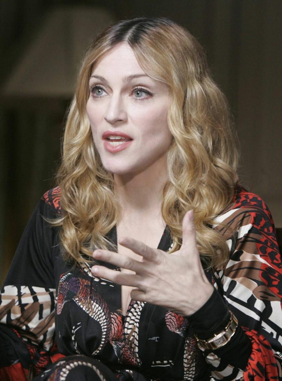KJEMPET: Madonna ville svært gjerne gi adoptivsønnen David en malawisk søster ...  Foto: AP/Scanpix