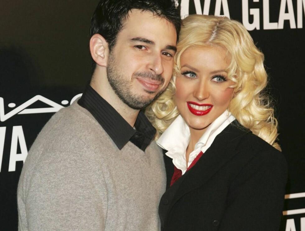 AIN'T NO OTHER MAN: Christina Aguilera elsker sin ektemann Jordan Bratman - selv om han blekner en del ved siden av skjønnheten. Foto: All Over Press