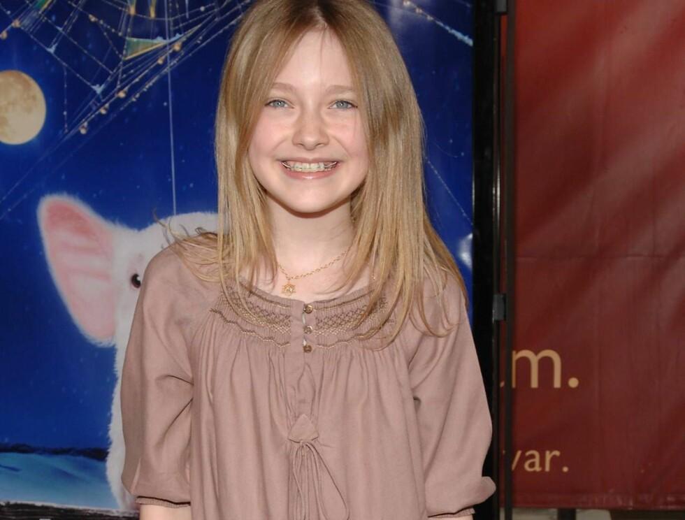 """STJERNE: Til tross for at hun bare er 12 år, har Dakota allerede spilt i en rekke filmer, blant annet """"War of the worlds"""". Foto: Stella"""