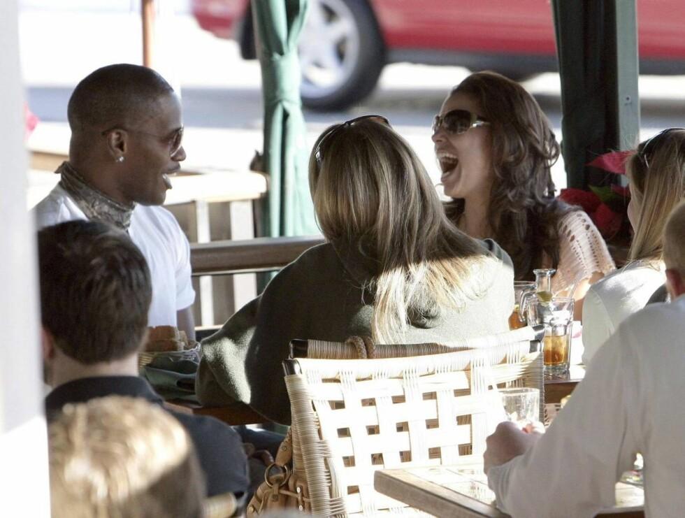 LER: Eva stråler for tiden, noe som viste godt igjen under gårsdagens lunsj i Hollywood. Foto: STELLA PICTURES