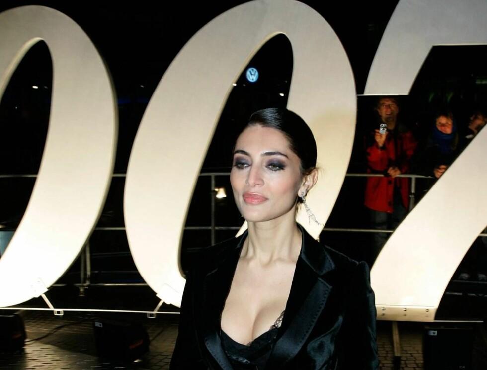 """VAKKER: Caterina begynte ikke som skuespillerinne før i 2002. Nå gjør hun stor suksess i """"Casino Royale"""". Foto: All Over Press"""