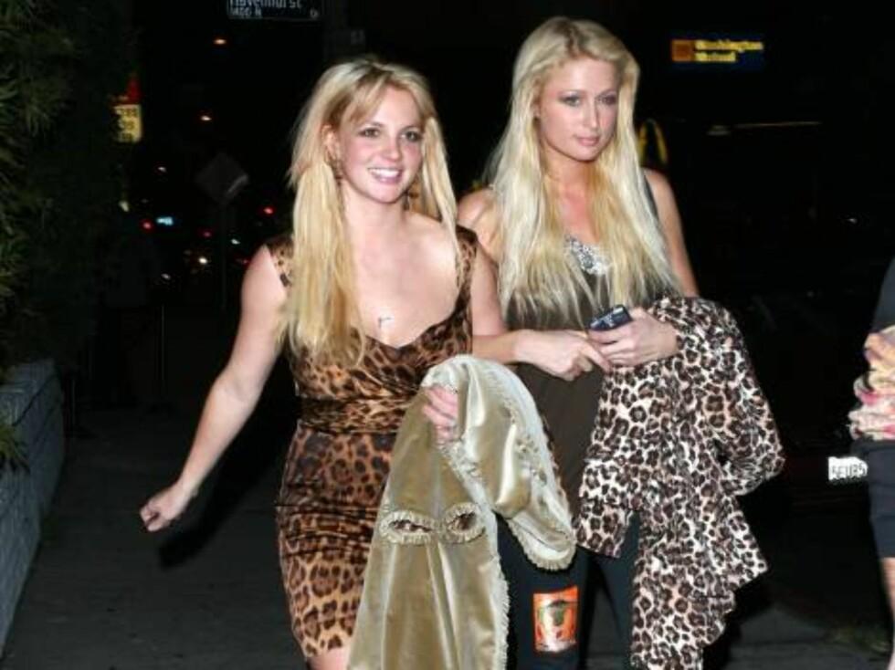 Paris og Britney: Bare bestevenninner? Foto: All Over Press