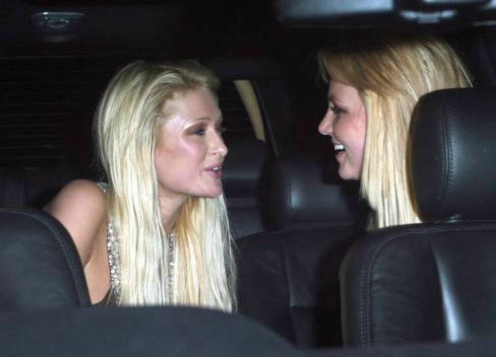 Britney Spears in leopard at club Teddy's with Paris Hilton Nov 22, 2006 X17agency exclusive Foto: All Over Press