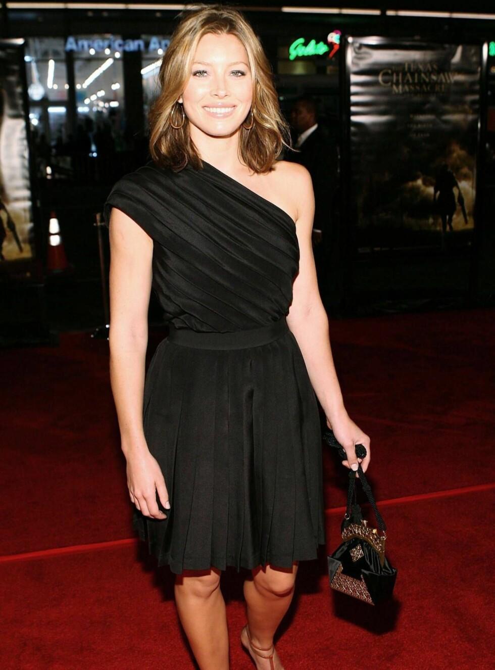 VAKKER: Jessica Biel er alle gutters drøm.  Foto: All Over Press