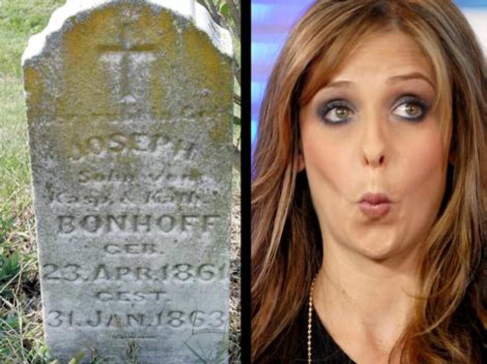 """Skuespillerinnen Sarah Michelle Gellar er livredd kirkegårder. Da hun spilte i tv-serien """"Buffy"""", måtte produsentene bygge en falsk kirkegård. Sarah nektet nemlig å spille inn scener på de virkelige ... Foto: AP/Scanpix"""