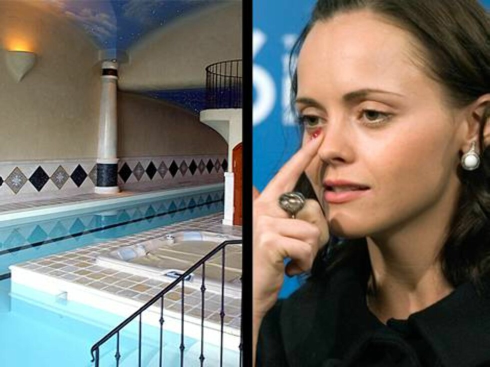 Skuespillerinnen Christina Ricci blir redd når hun ser et svømmebasseng. - Jeg vet ikke hvorfor, men jeg ser for meg at det kommer en hai svømmende hver eneste gang, har hun uttalt. Hun er også livredd potteplanter ... Foto: AP/Scanpix