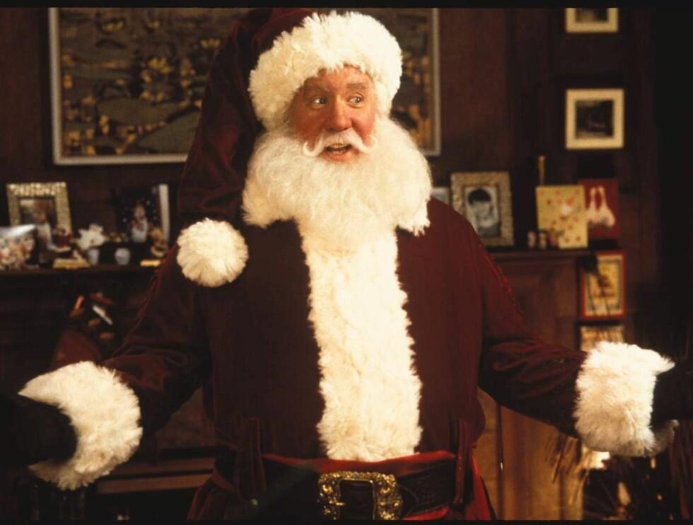 "GLØGG OG GODT HUMØR: Tim Allen spiller julenissen i ""Santa Clause 2"". Foto: Filmweb"