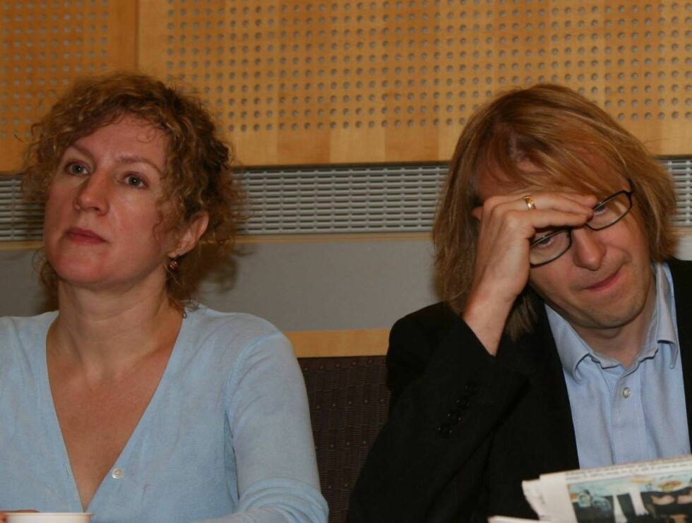 VANT SAKEN: Andrine Sæther og Lars Lillo Stenberg likte ikke at ukebladet tok bilder av bryllupet deres. Foto: Even Rise, Se og Hør