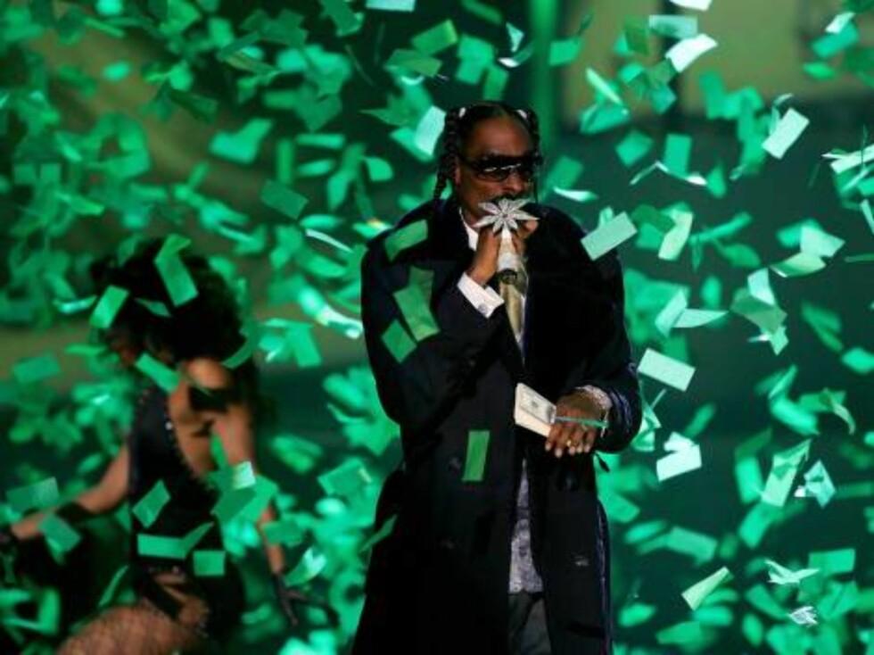 Rapperen Snoop Dogg. Foto: All Over Press
