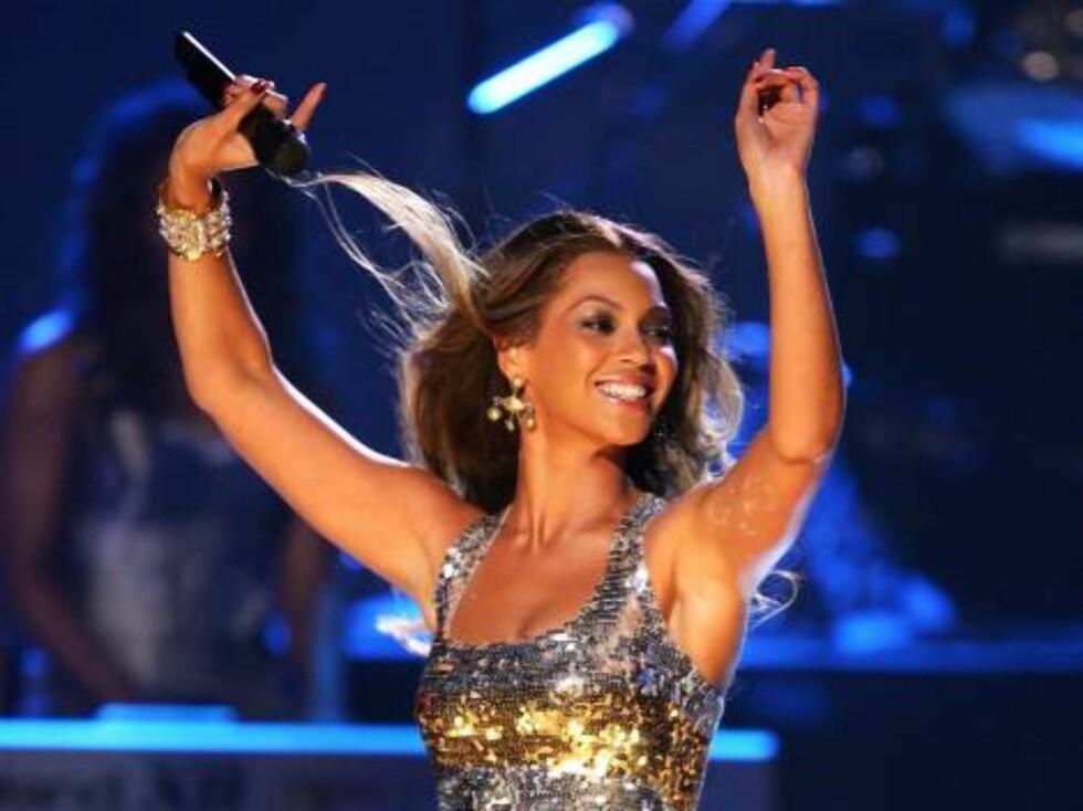 Vakre Beyoncé. Foto: All Over Press