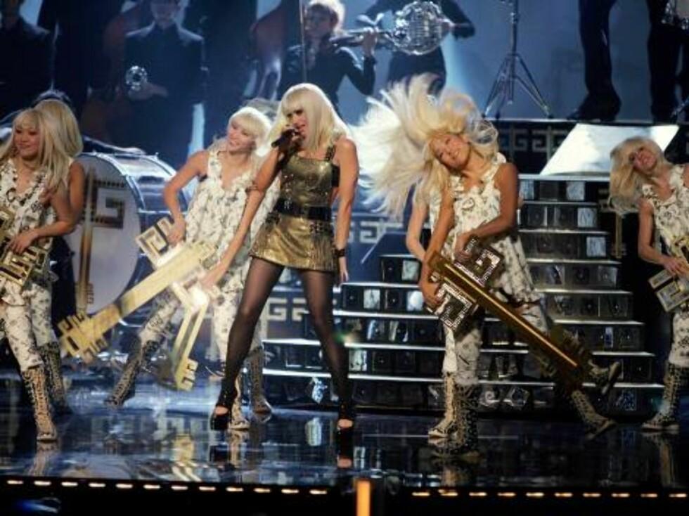 Nyskapende Gwen Stefani. Foto: All Over Press