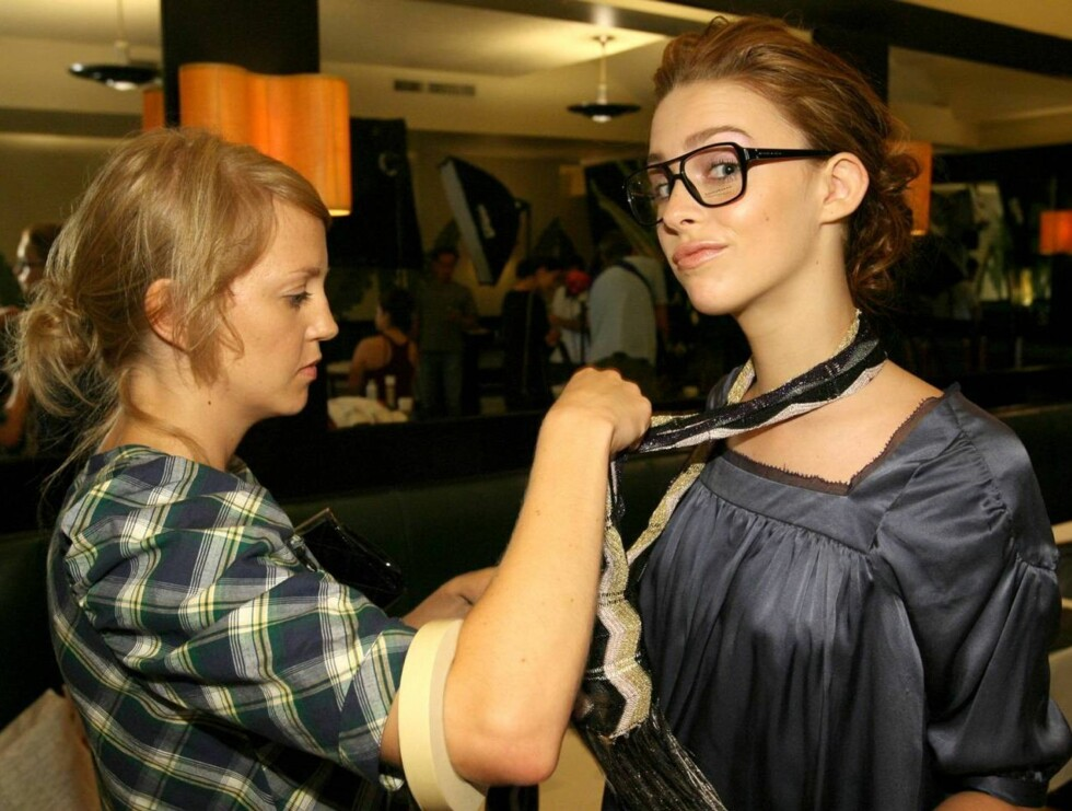 Hardt arbeid: Maria Eilertsen forventer mye hardt arbeid når hun drar til New York for å jobbe som modell. Foto: tv3