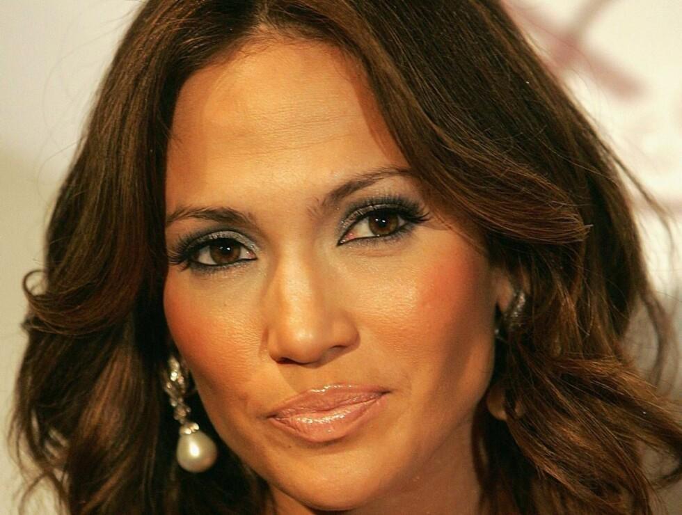 SJIKANERES: Jennifer Lopez blir parodiert i en grov pornofilm om hennes karriere. Foto: All Over Press