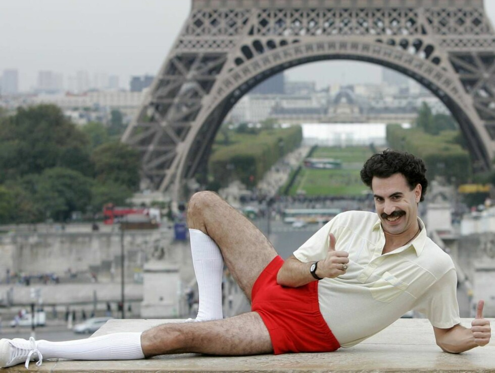 HÅVER INN: Borat-skuespiller Sacha Baron Cohen blir Storbritannias best betalte stjerne. Foto: AP