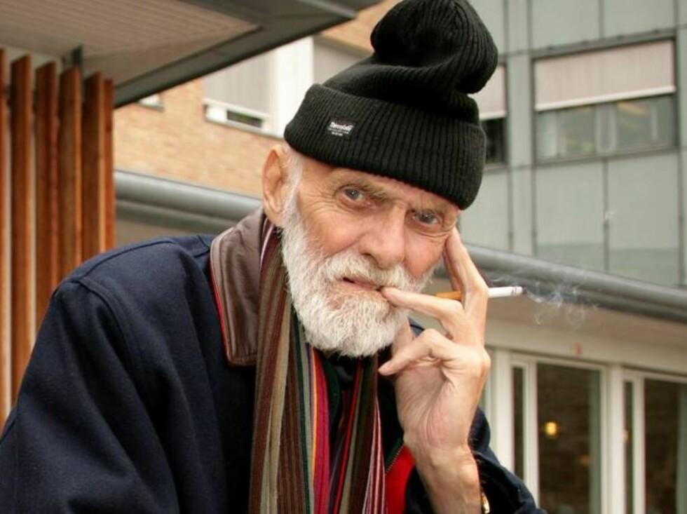 SYK: Sven O. syntes det var fint å få tankene bort fra sykdom og elendighet. Foto: Henning Jensen, Se og Hør