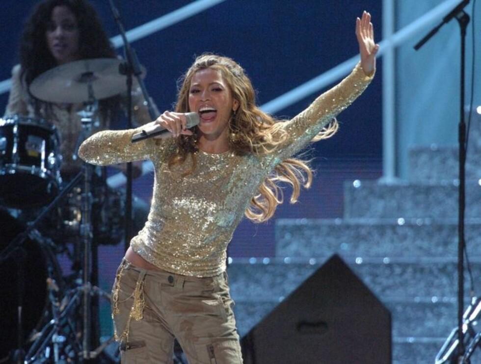 FIKK PRIS: Beyoncè Knowles ble kåret til verdens mestselgende R'n'B artist. Foto: Stella