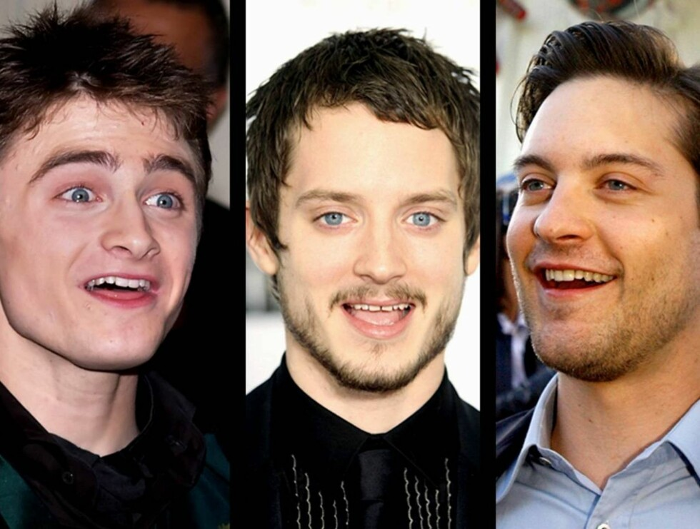 LIKE: Daniel, Elijah og Tobey blir stadig vekk blandet med hverandre. Ser du hvorfor? Foto: AP/Scanpix