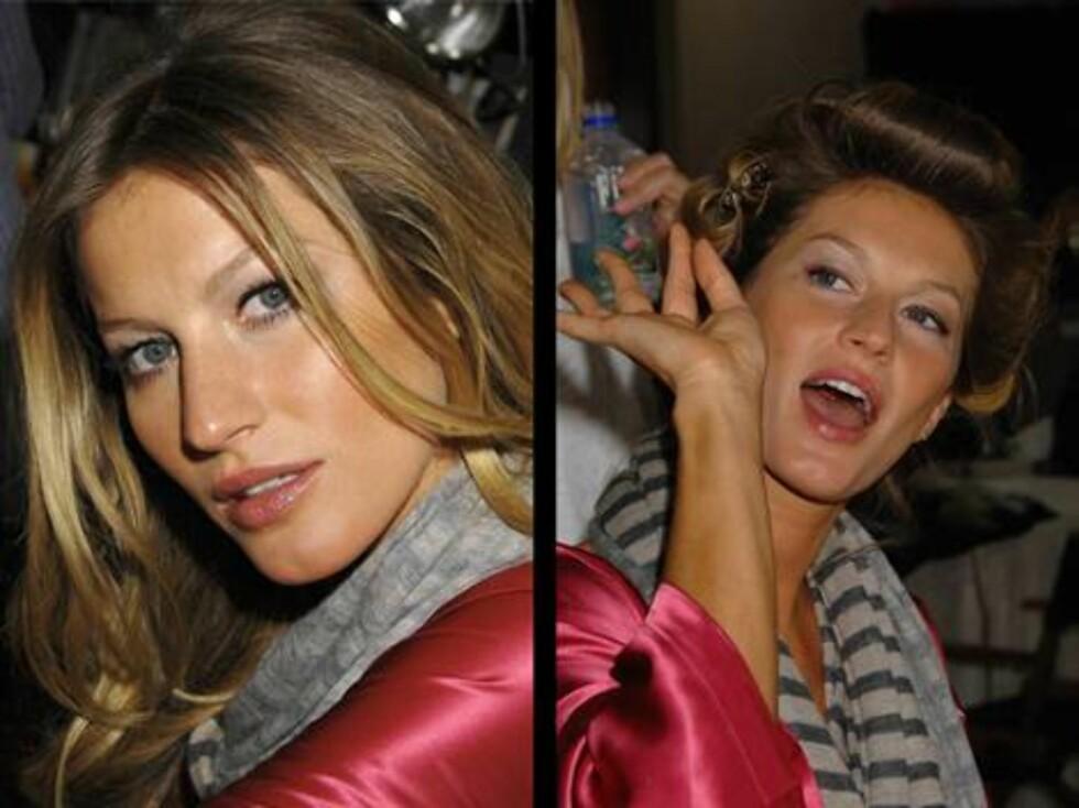 KOSTE SEG: Gisele Bundchen har vært på mange Victoria's Secrets show. Foto: STELLA PICTURES
