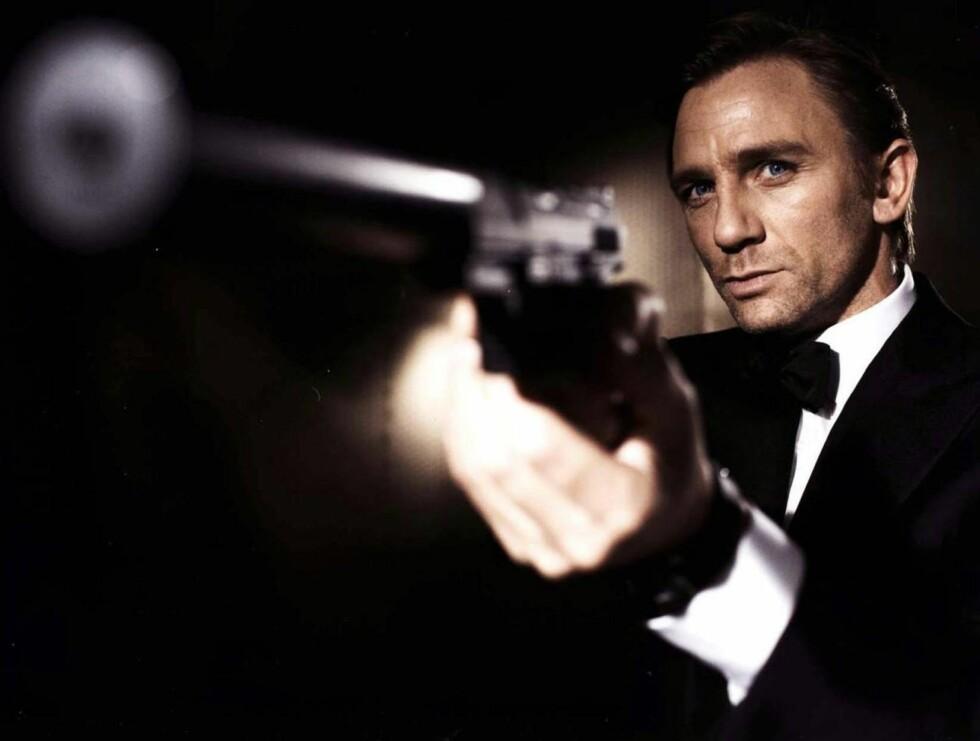 TØFF: James Bond er damenes helt. Også Caterinas. Foto: AP/Scanpix