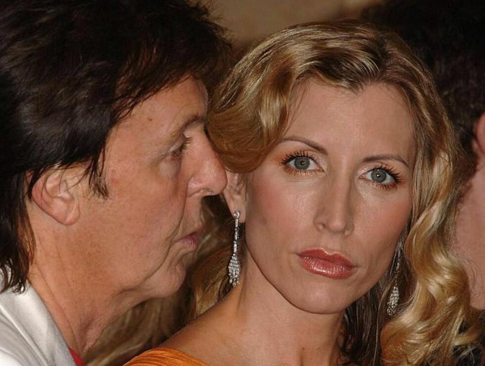 HA DEG UT: Paul McCartney vil ikke la Heather bo på en av sine eiendommer. Men for 27 millioner kroner får hun sikkert et akseptabelt krypinn... Foto: stella