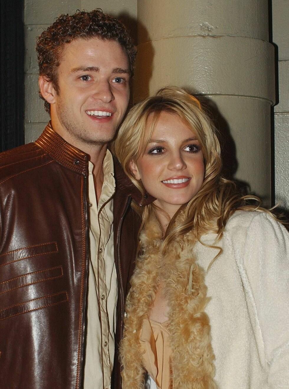 SAMMEN: Britney og Justin var lenge et av verdens heteste par. De har kjent hverandre siden de var barn! Foto: AP/Scanpix