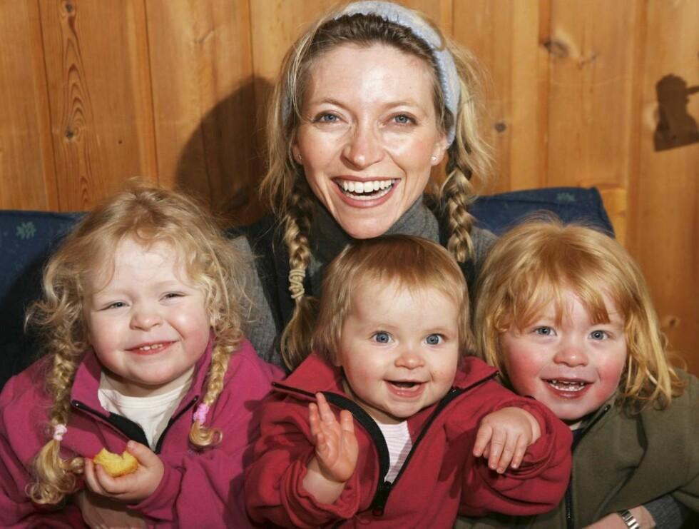 PÅ FLYTTEFOT: Trude og barna har flytett hjem til Norge ogjen.. Foto: or Kvello, Se og Hør