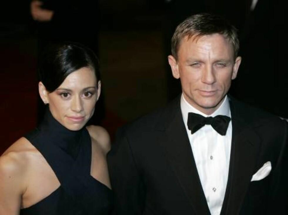 PÅ PREMIERE:  Daniel Craig. Foto: AP