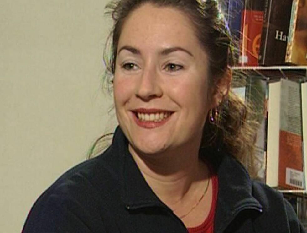SPØKEFUGL: Veronica Orderud har selvironi så det holder... Foto: Scanpix