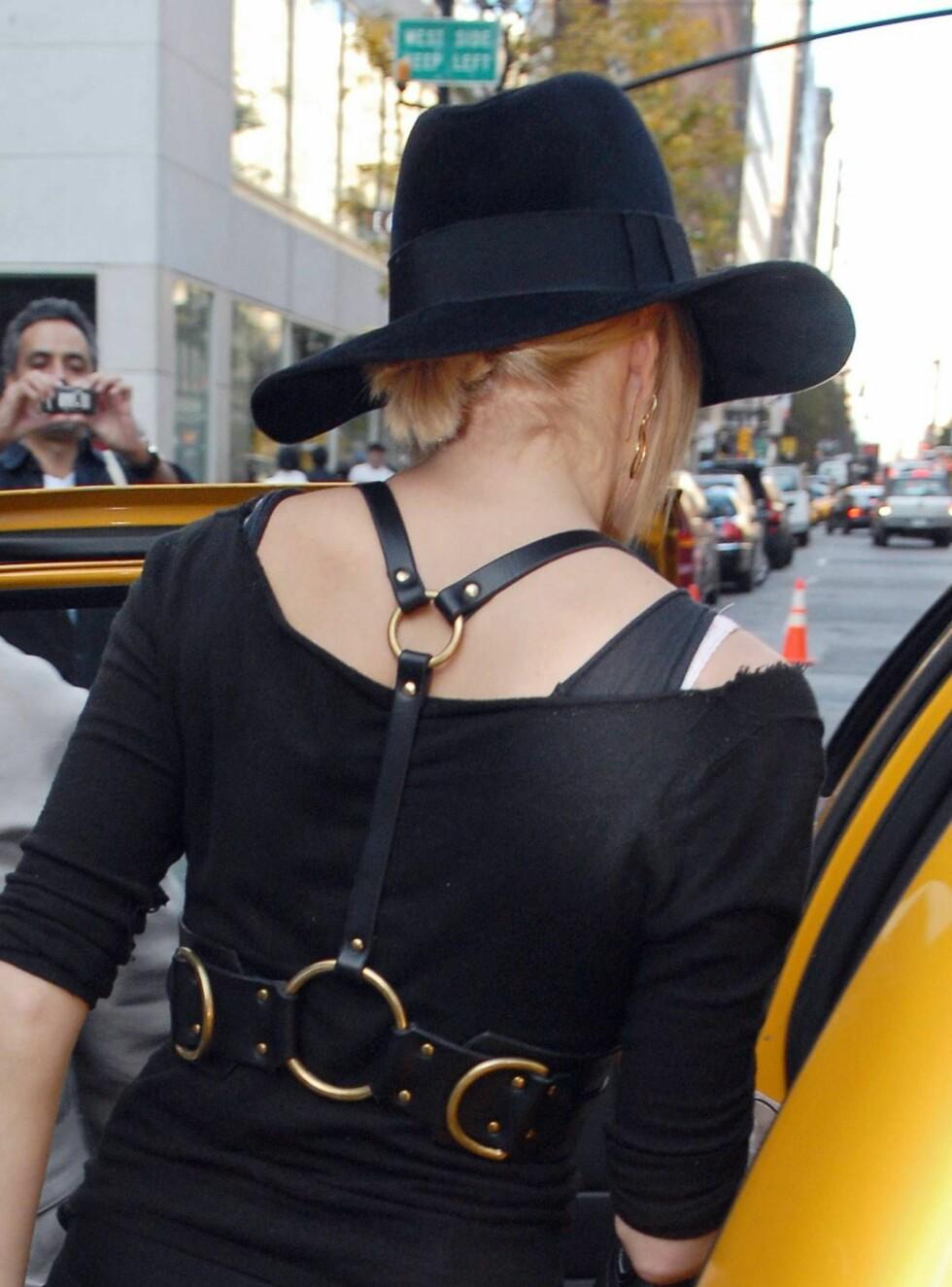 RYGG: Hva syns du om dette rygg-beltet? Foto: Stella Pictures