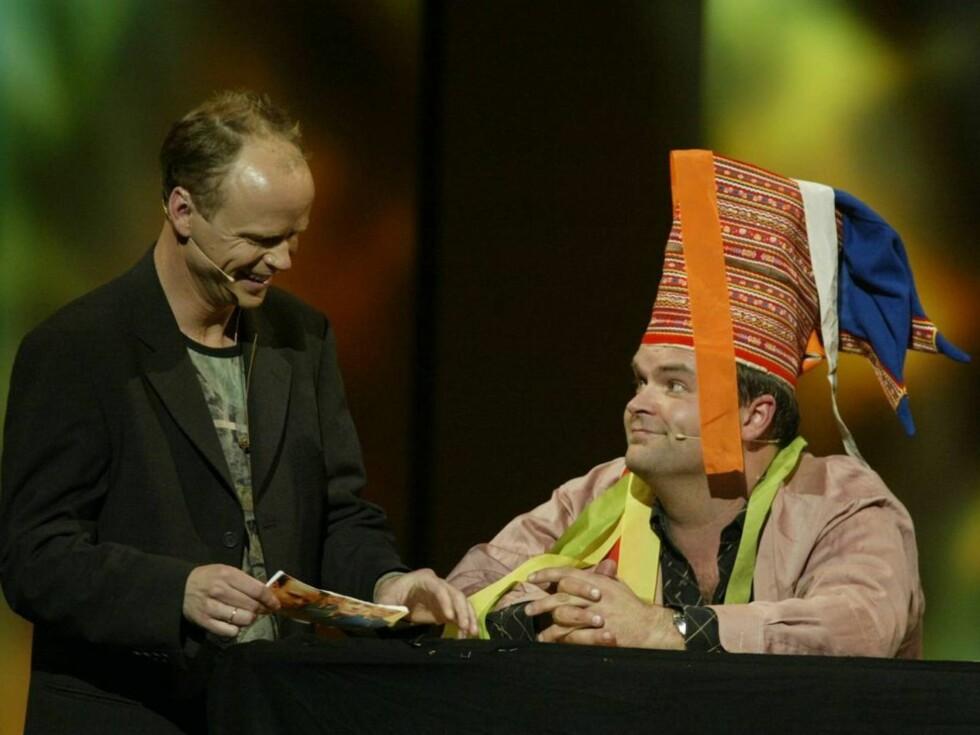 LER: Atle Antonsen lurer på om sketsjen med Joker Nord lar seg overføre til andre land. Foto: SCANPIX