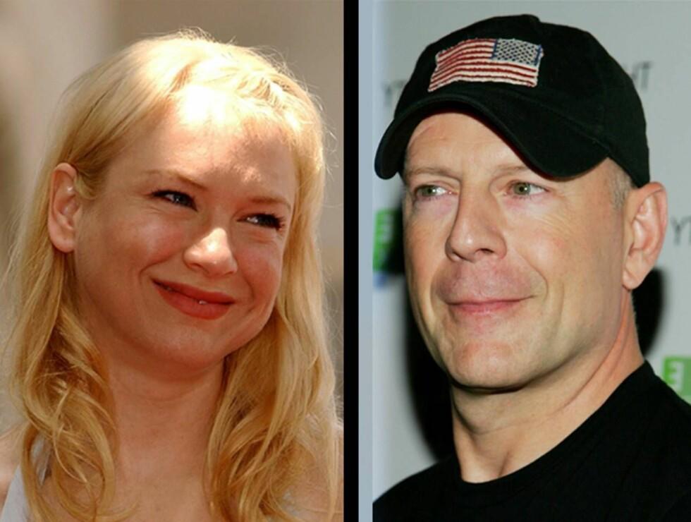 DATER?: Renée og Bruce var nylig på date i Beverly Hills. Foto: AP/Scanpix