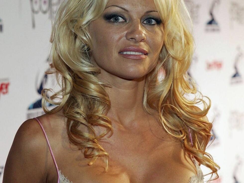 MEST ETTERSPURT: Den tidligere Baywatch-baben Pamela Anderson.. Foto: All Over Press