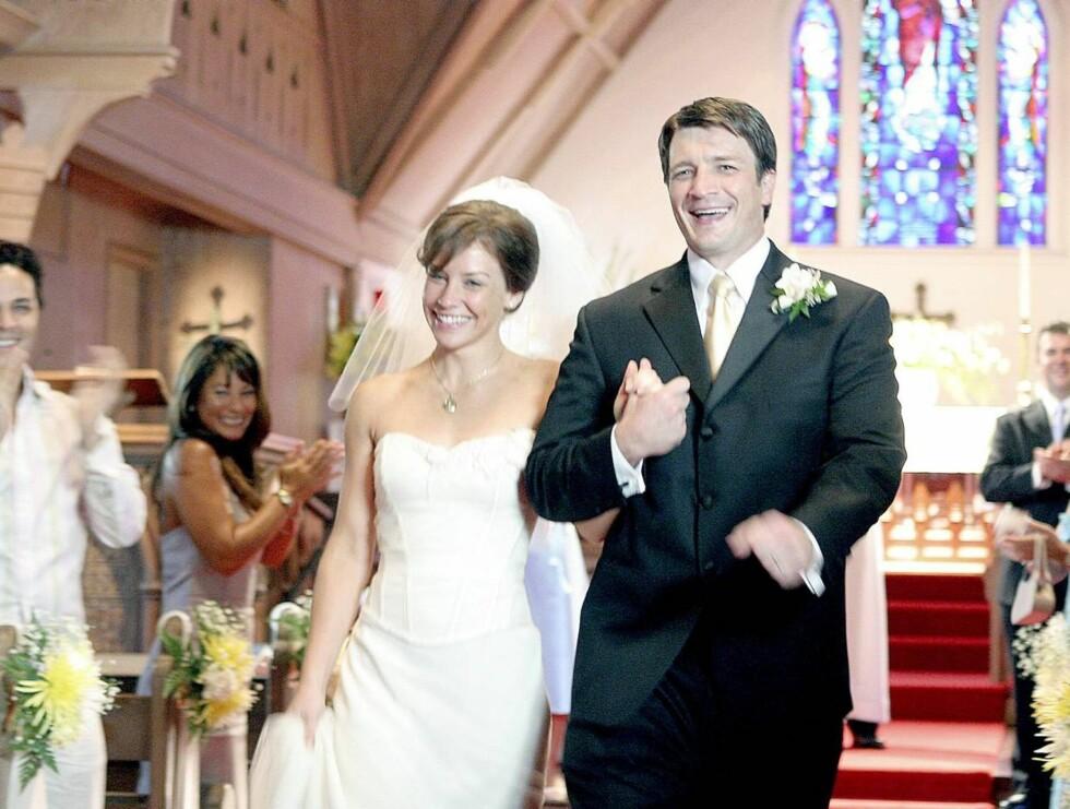 GLADE: Kate frydet seg på bryllupsdagen. Men gleden skulle ikke vare lenge ... Foto: STELLA PICTURES