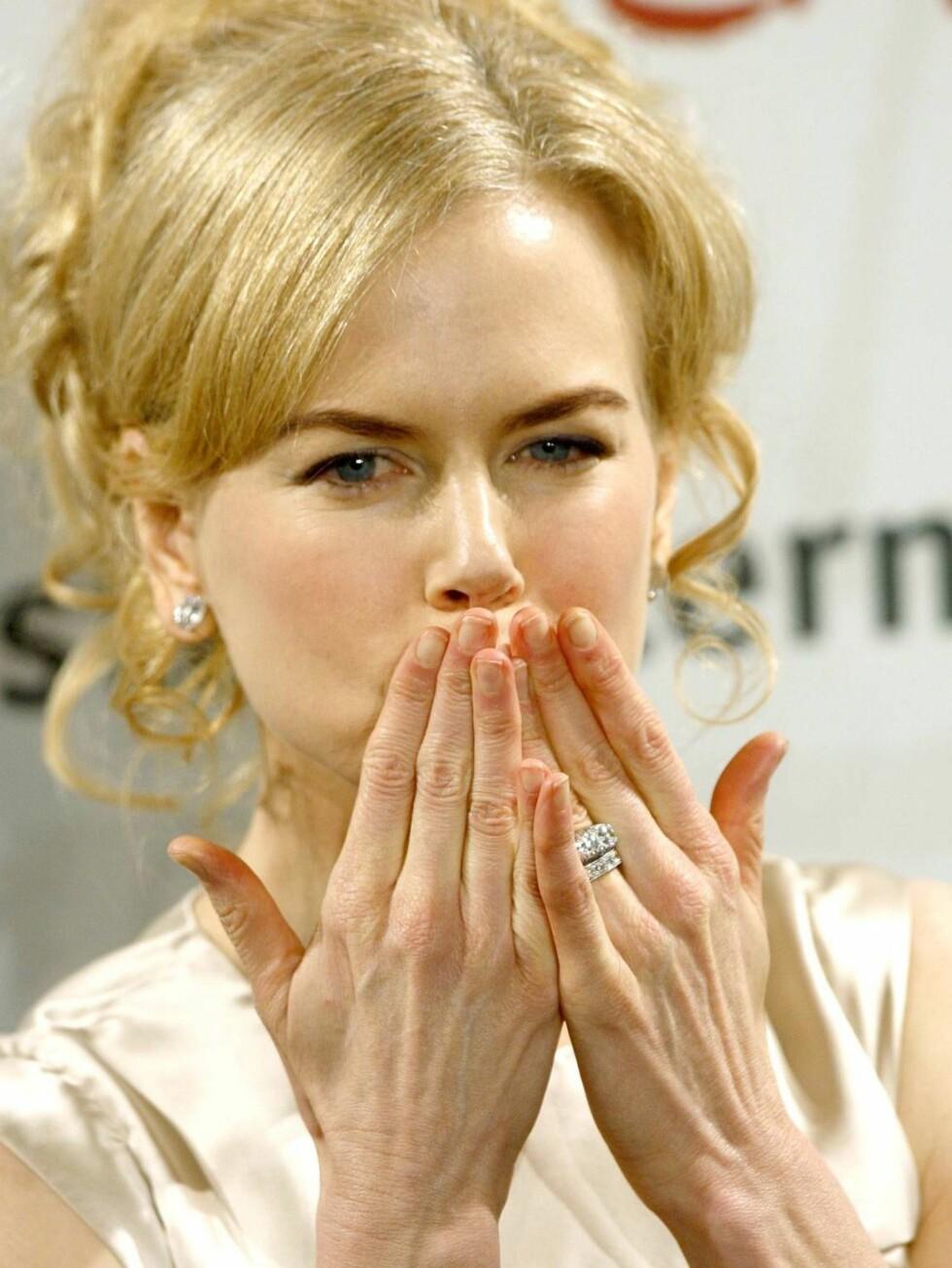GRAVID: - Nicoles drøm har endelig gått i oppfyllelse, forteller en kilde. Foto: AP/Scanpix